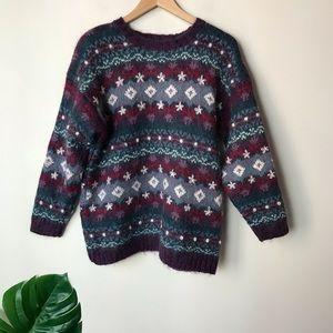 Christopher & Banks | Vintage Wool Blend Sweater L